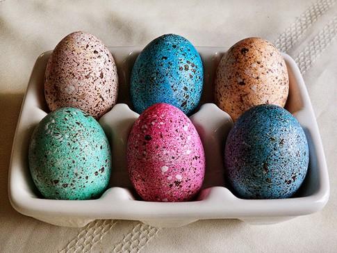 Egg Dying Techniques Part 2 Popsicle Blog