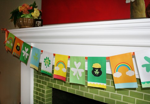 Printable St. Patrick's Day Banner
