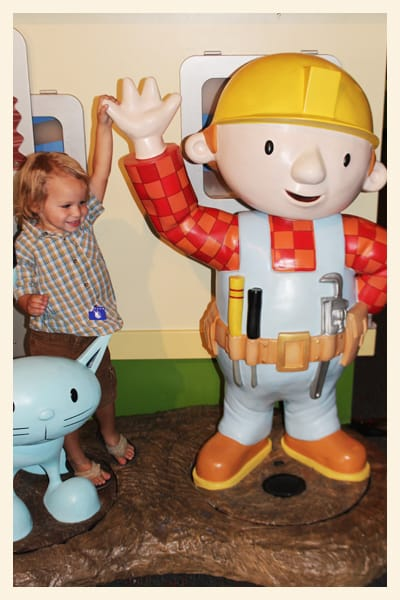 the new Bob the Builder Exhibit is officially open and itu0027s awesome. perfect for kiddies 2-7 years old this hands-on exhibit allows kids to explore the ...  sc 1 st  Sandy Toes and Popsicles & Bob the Builder at Discovery Science Center - Popsicle Blog