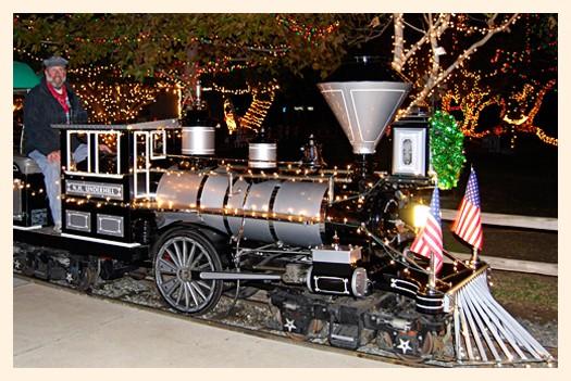 Irvine Park Railroad Christmas Train 2012 - Popsicle Blog