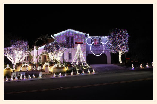 one special feature of this Christmas light display is, that you can send a holiday text message to our guests that will appear on a 6 foot LED screen right ...