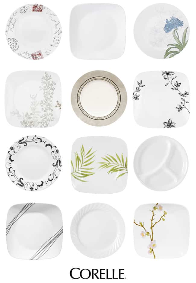I'm Replacing My Broken Wedding Dishes With Corelle Giveaway Magnificent Corningware Dishes Patterns
