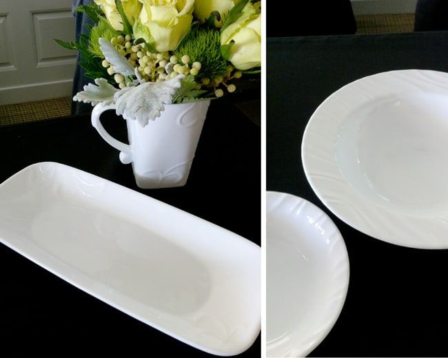 corelle-fish-plate-entree-bowl & Iu0027m Replacing my Broken Wedding Dishes with Corelle | Giveaway ...