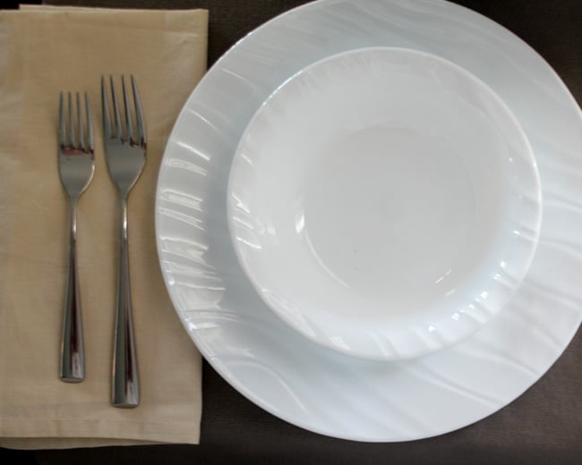 corelle-swept-plate-dish ... & Iu0027m Replacing my Broken Wedding Dishes with Corelle | Giveaway ...