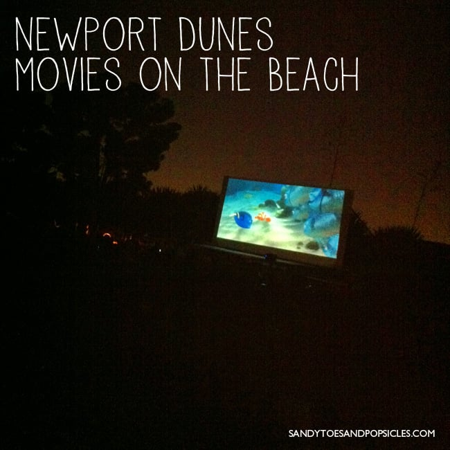 Movies on the Beach at Newport Dunes | FREE