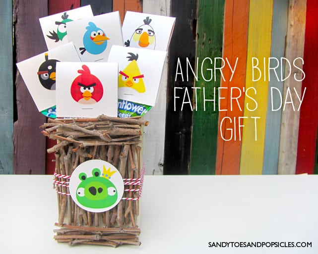 Angry Birds Father's Day Gift | Free Printable