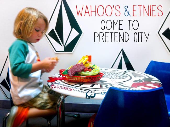 Wahoo's & Etnies Exhibits at Pretend City #orangecounty #museum