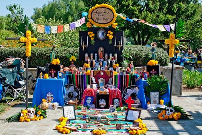 Rose Hills Dia De Los Muertos Altar