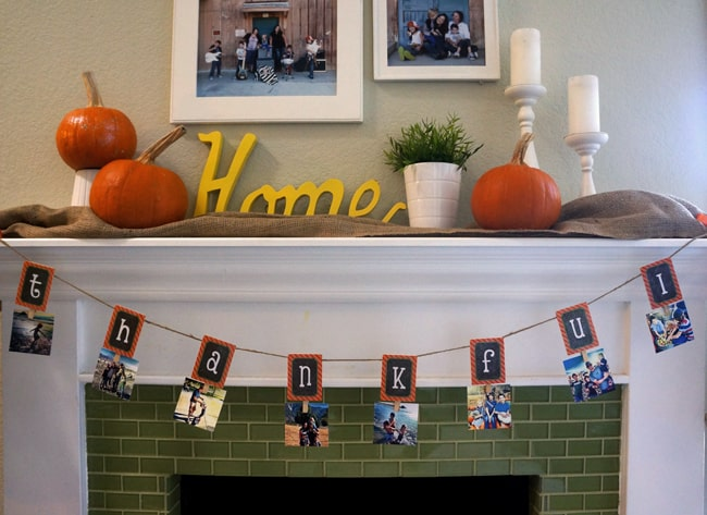 thankgiving-mantle-mod-podge