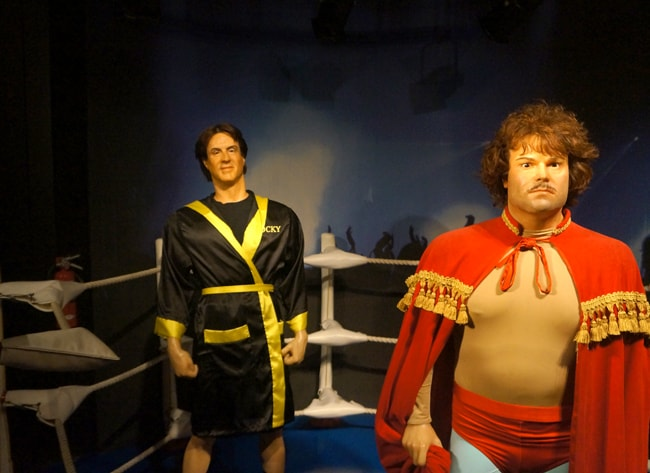 Family Fun At The Hollywood Wax Museum Popsicle Blog