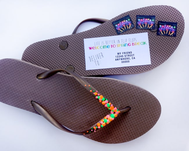 how-to-mail-flip-flops