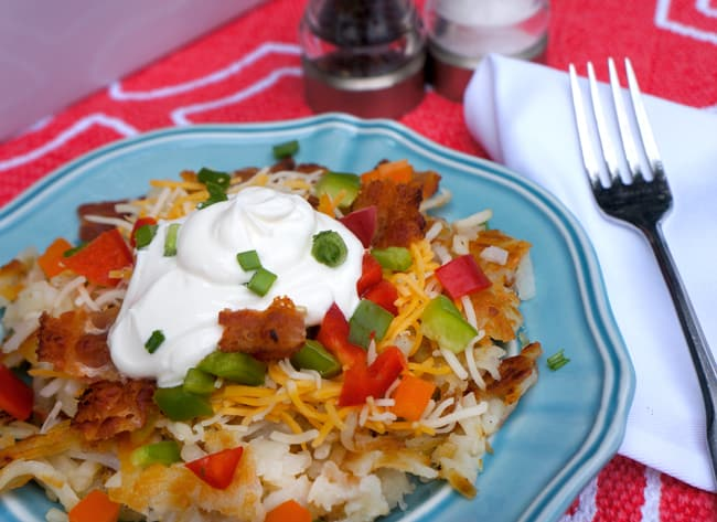 Hash Brown Brunch Idea with Free Printables