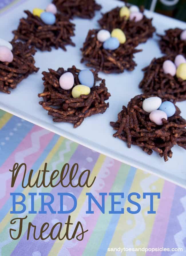 Nutella Bird Nest Treats Recipe