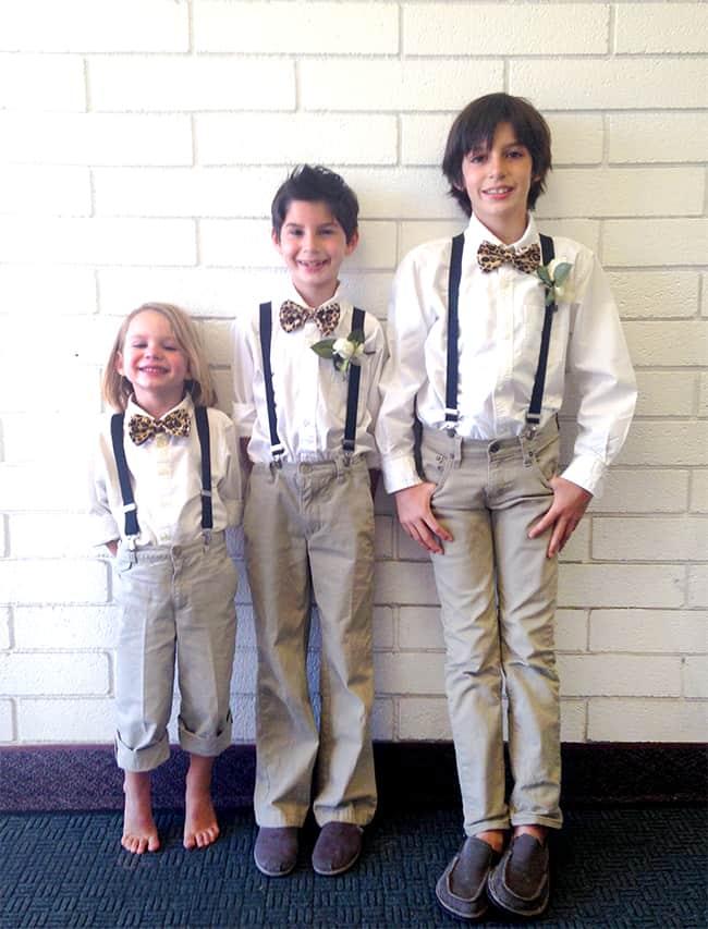 Boys Wedding Fashion