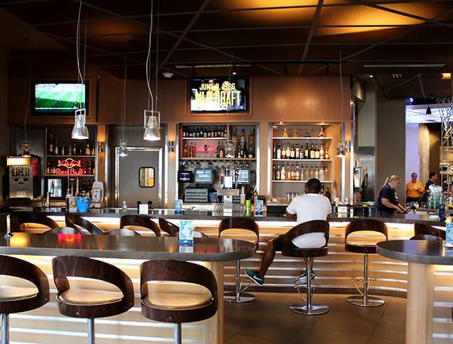 Fremont Street Dennys Las Vegas Bar