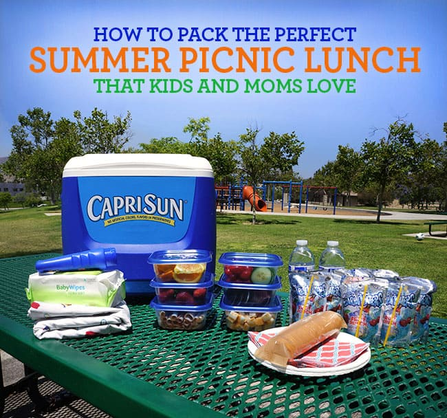 How to Pack the Perfect Picnic Lunch for Kids and Moms