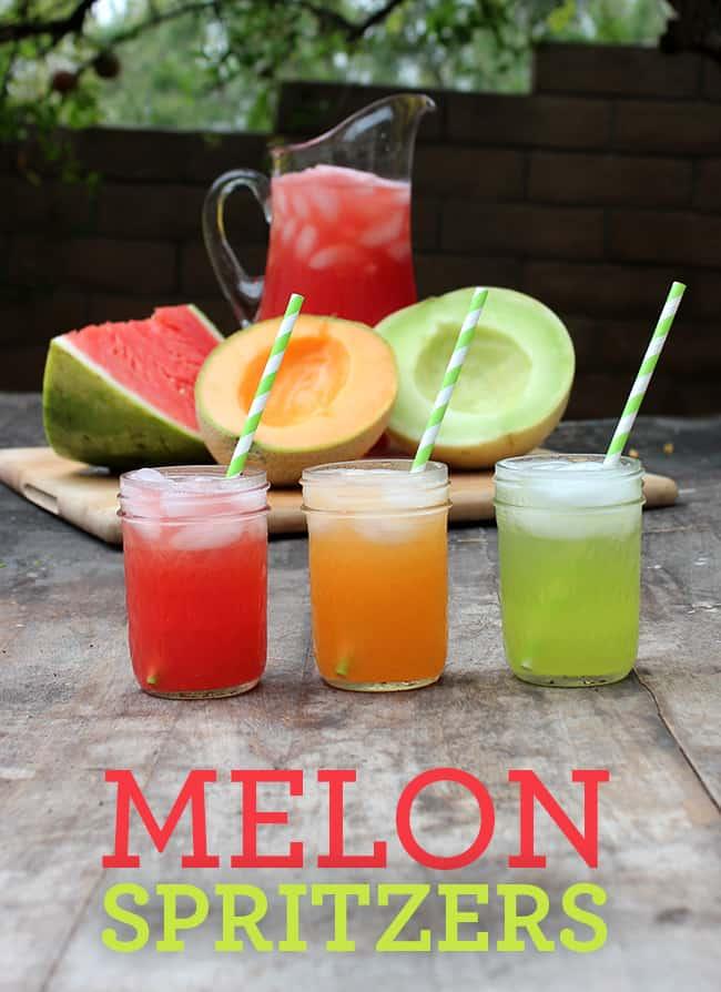 Easy Melon Spritzers | Summer Drink Recipe  #mocktail #SweetNLowStars