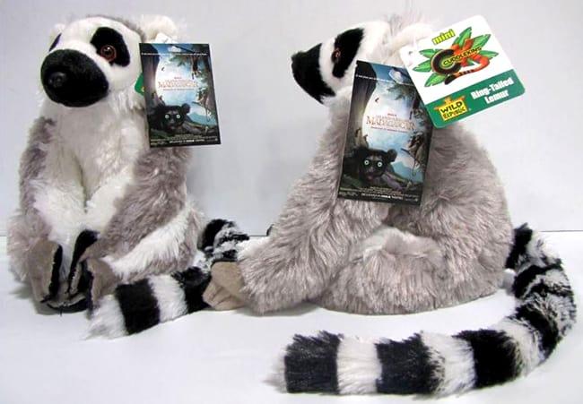lemur plush-animal