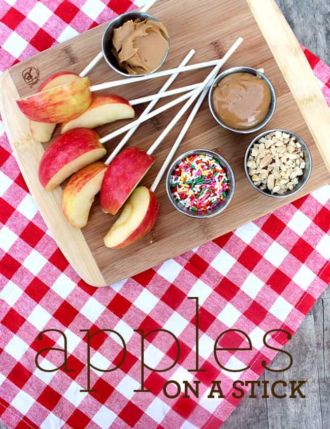 Easy Apple Snack Ideas