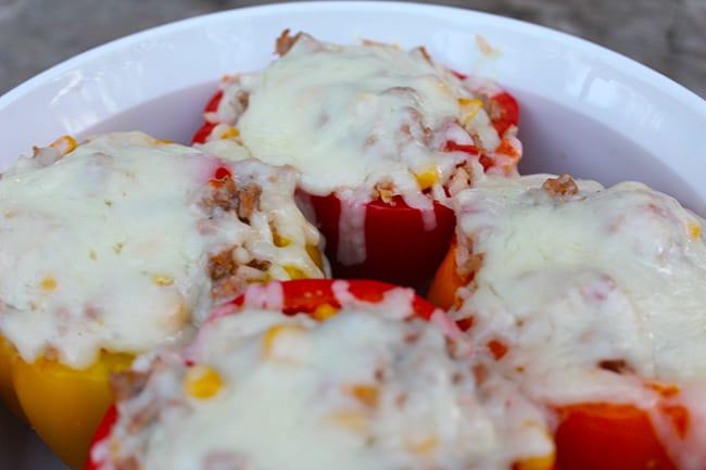 Turkey Stuffed Bell Peppers Recipe