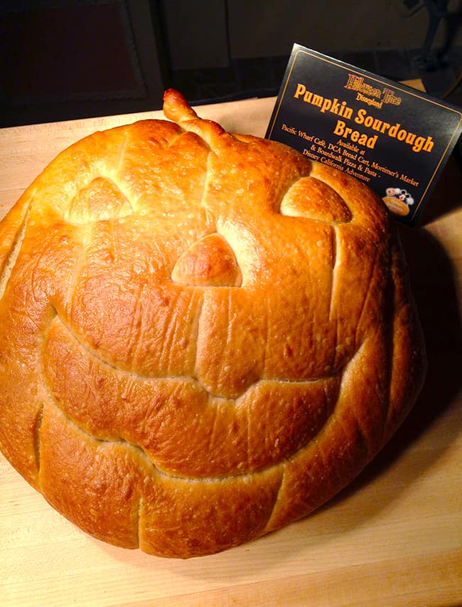 Disneyland Pumpkin Shaped Sourdough Bread