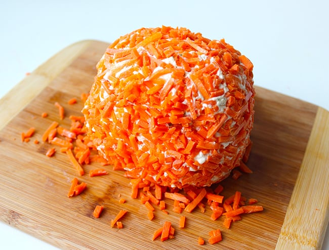 Halloween Onion Ranch Cheese Ball