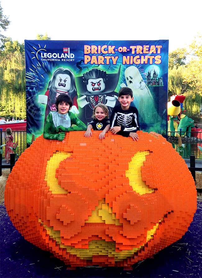 Legoland Brick-or-Treat Halloween Event