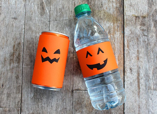 Halloween drink printable! #free #printable #spookysnacks
