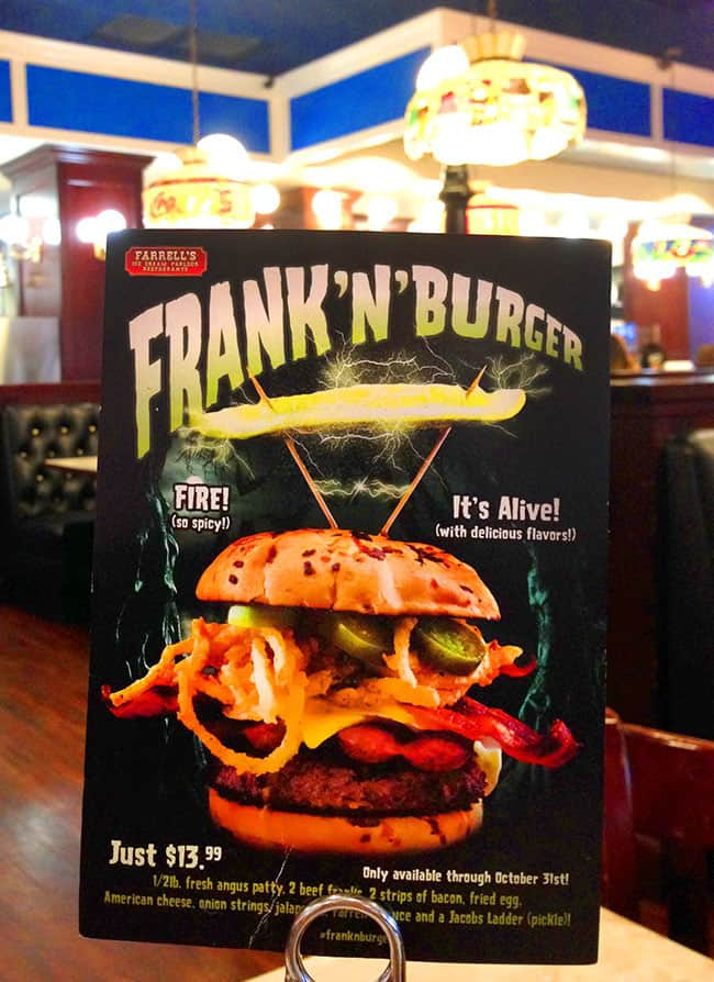 farrells-ice-cream-parlor-halloween-frankenburger