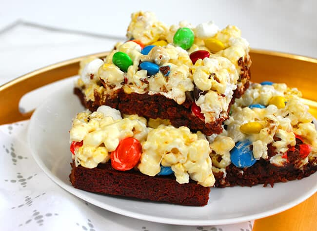 Brown Butter Popcorn Brownies Recipe