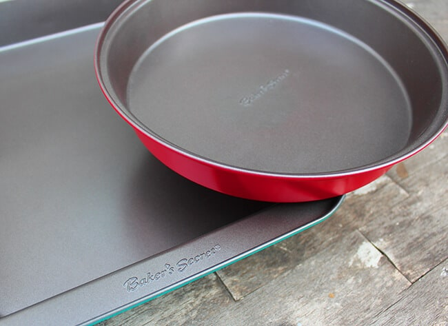bakers secret colored baking dishes