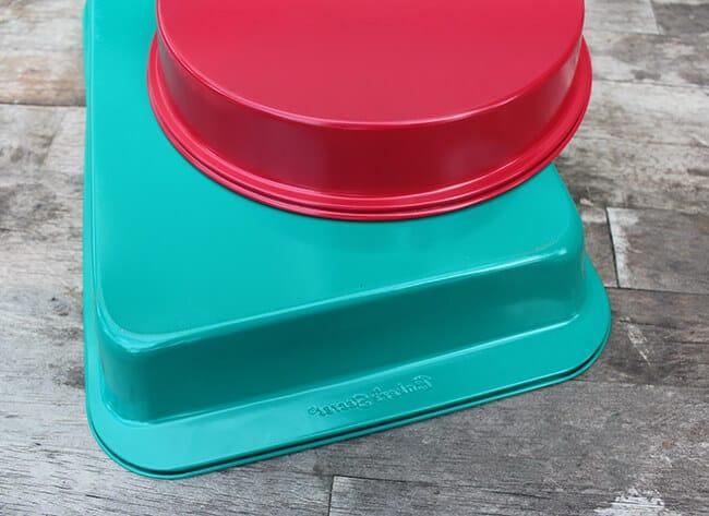 bakers secret colored pans