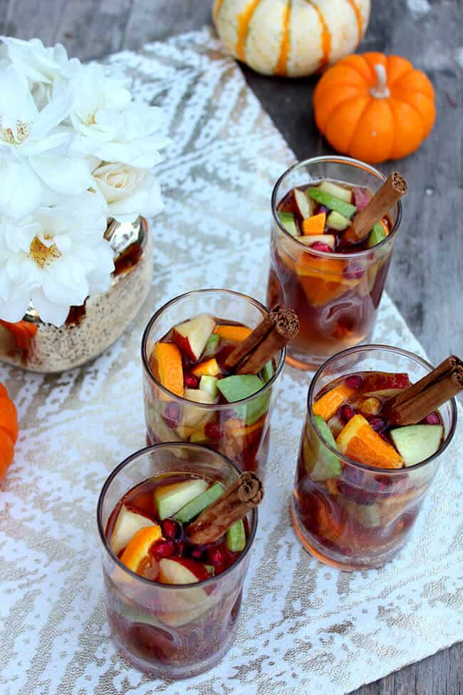 fruit spiced punch