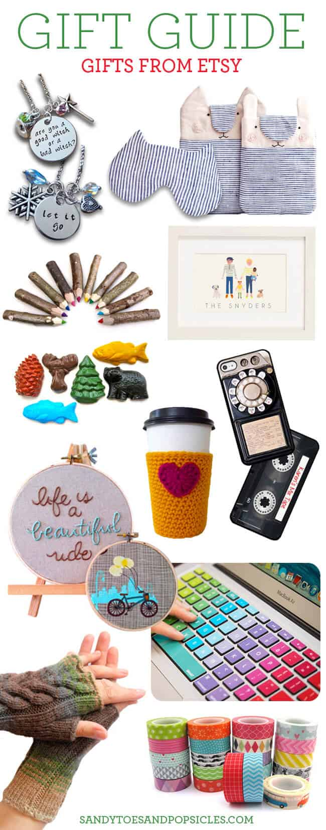 gift guide handmade gifts from etsy