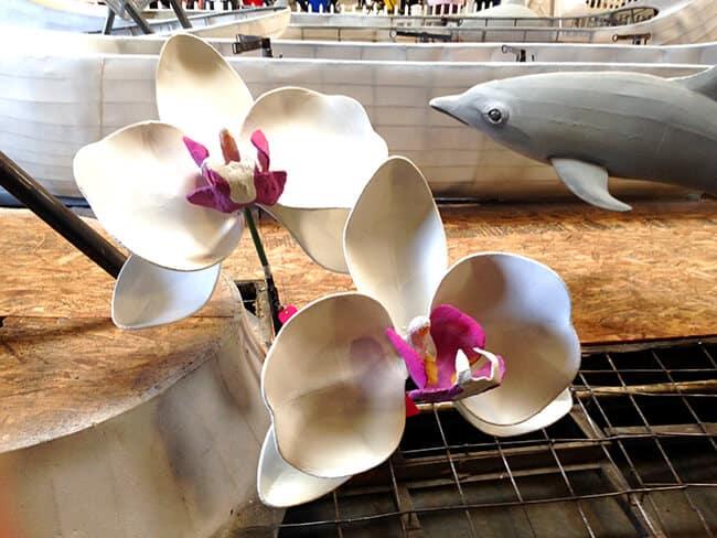 Dole Rhythm of Hawaii Rose Parade Float