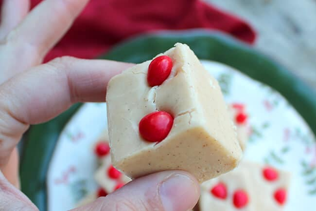 Easy Gingerbread Fudge