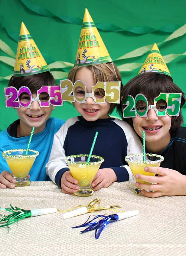 new year's eve moctail recipe