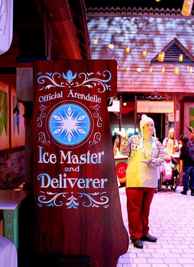 California Adventure Frozen Fun Drinks