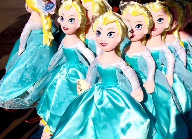 California Adventure Frozen Fun Elsa Anna