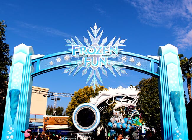 Take a Tour of Frozen Fun at Disney California Adventure