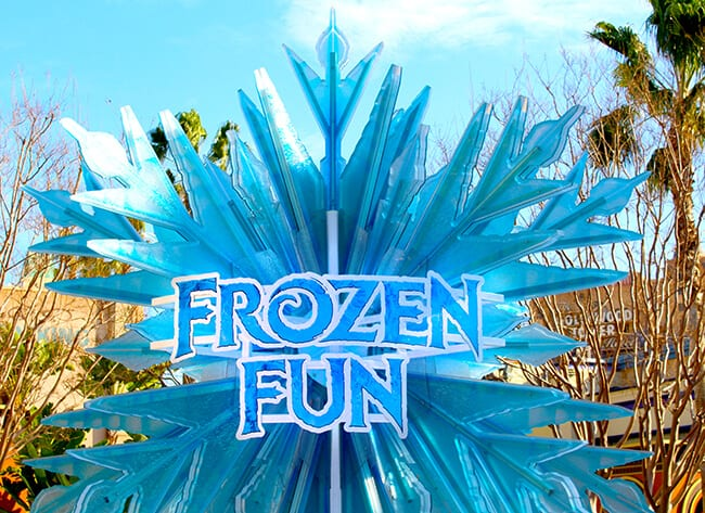 California Adventure Frozen Fun