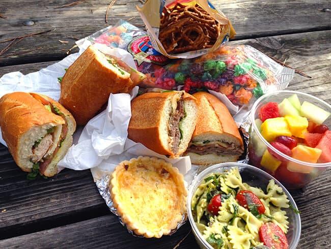 Carmel 5th Deli Picnic Lunch