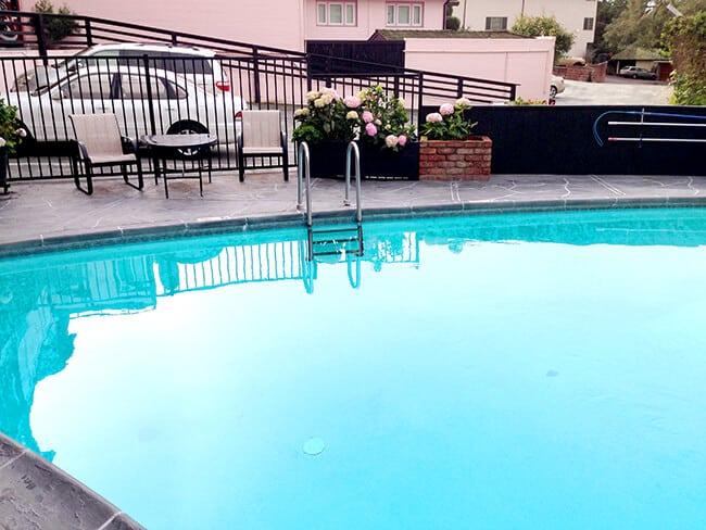 Carmel by the Sea Hofsas House Heated Pool