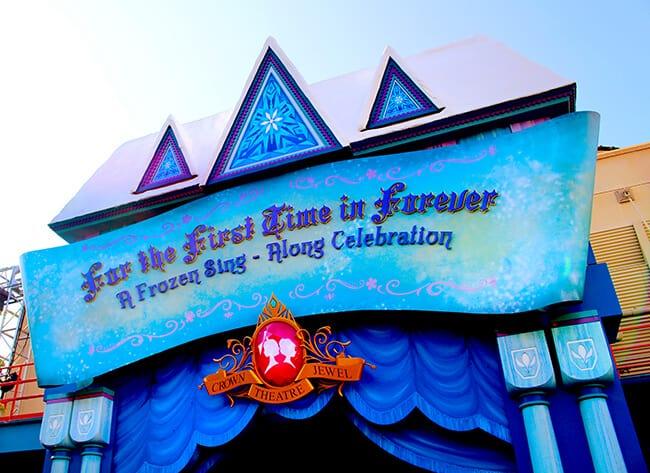 Disneyland Frozen Sing A Long