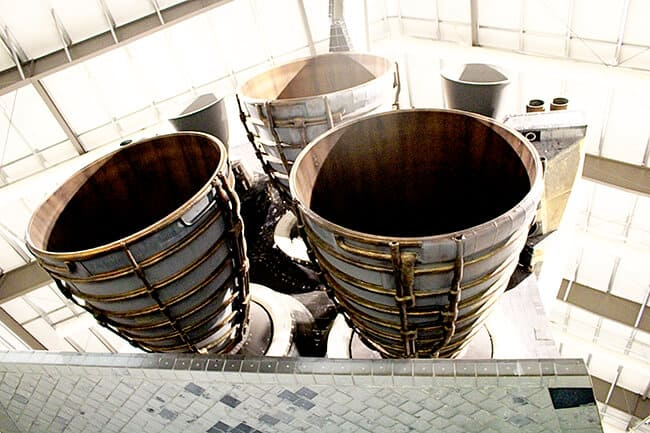 Endeavor Space Shuttle Rocket Boosters