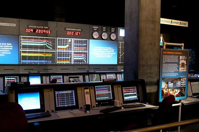 Endeavor Space Shuttle control center