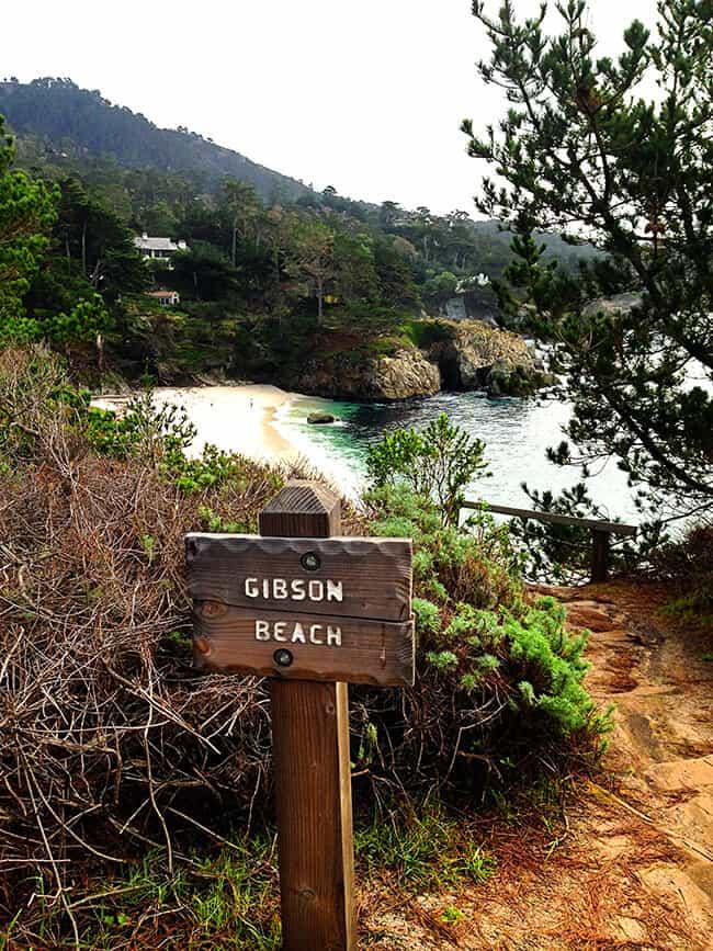 Point Lobos State Park Gibson Beach