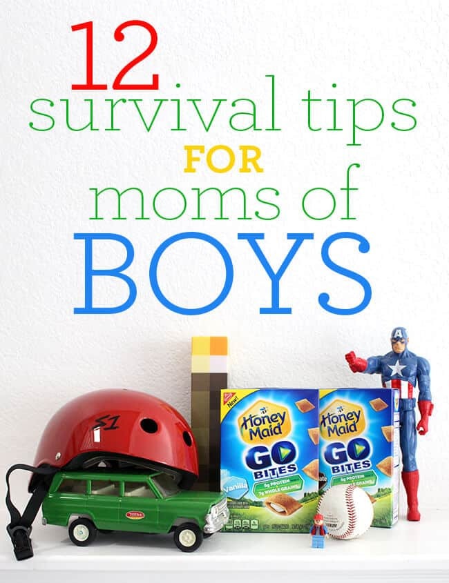 survival tips for moms of boys