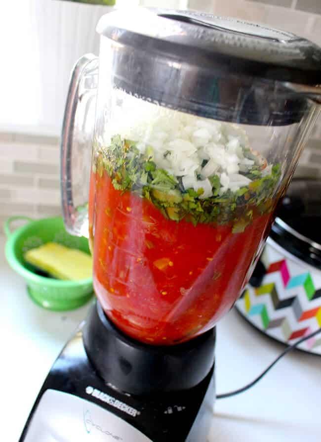 Easy Fresh Salsa Recipe