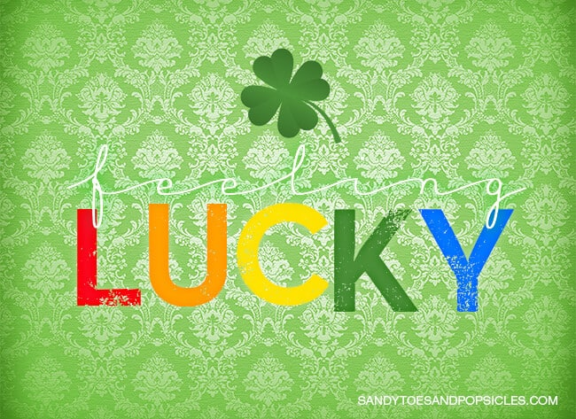 Feeling Lucky St. Patrick's Day Printable copy